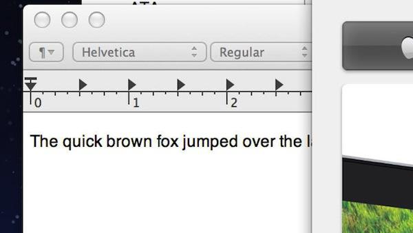 Интерфейс Mac OS X на новом дисплее Retina