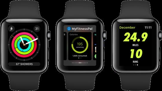 Активність  у Apple Watch візуалізують дані про всі ваші рухи