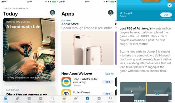 В оновленому App Store запропоновано більше попереднього перегляду відео