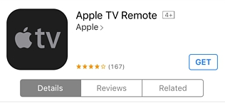 Apple TV Remote у AppStore