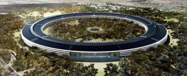 Комп'ютерна модель нового Apple Campus 2