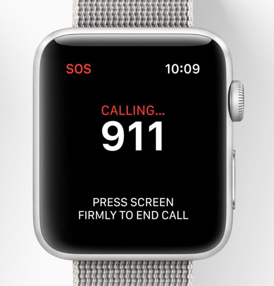Apple Watch повідомить про екстрену ситуацію обрані вами номери