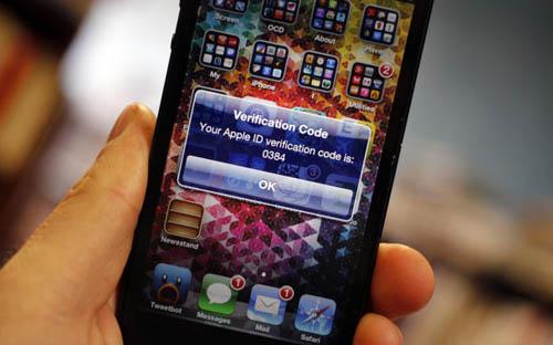 Двухуровневая верификация Apple ID