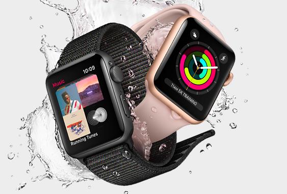 Apple Watch Series 3 мають мобільний зв'язок, висотомір та голосову Siri. Фото: apple.com