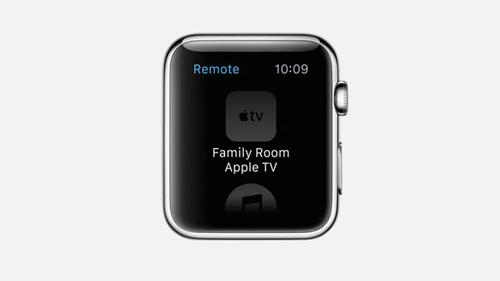 Приложение Remote на Apple Watch