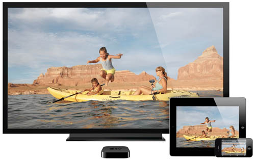 Airplay на Apple TV