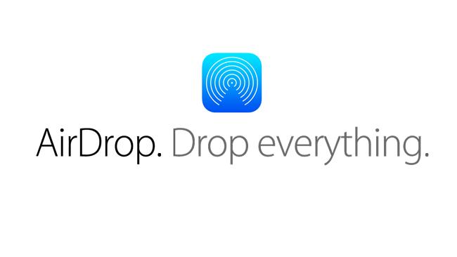 Передача файлов с помощью AirDrop на iOS