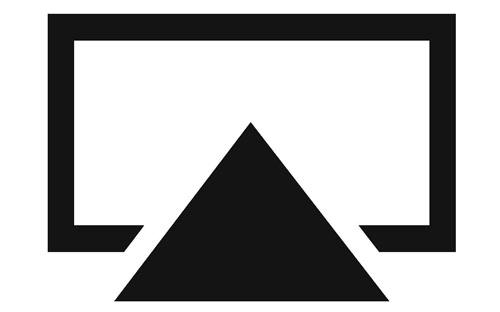 Иконка AirPlay