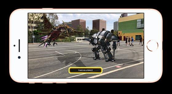 Демо доповненої реальності у iPhone