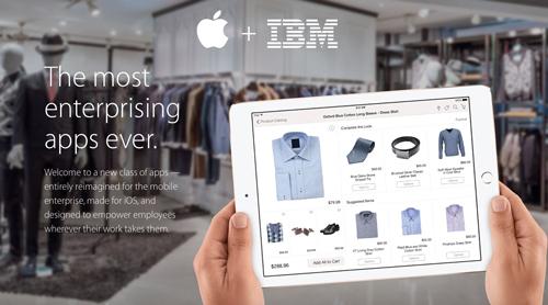 Apple и IBM представили еще 8 новых приложений