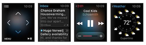 Дистанционное управление Apple Watch