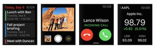 Прием звонков на Apple Watch