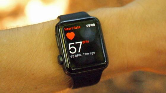 Apple Watch вимірюють пульс