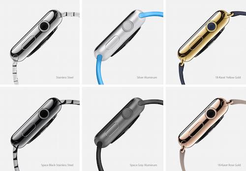 Модификации Apple Watch