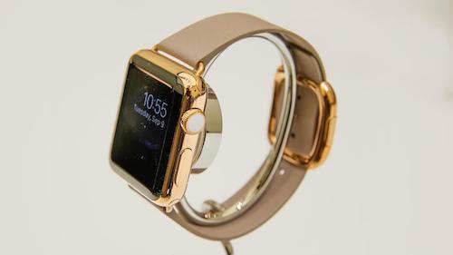 Золотой корпус Apple Watch Edition