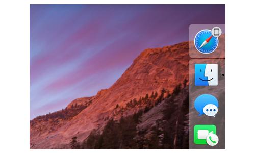 Работа Handoff на Mac