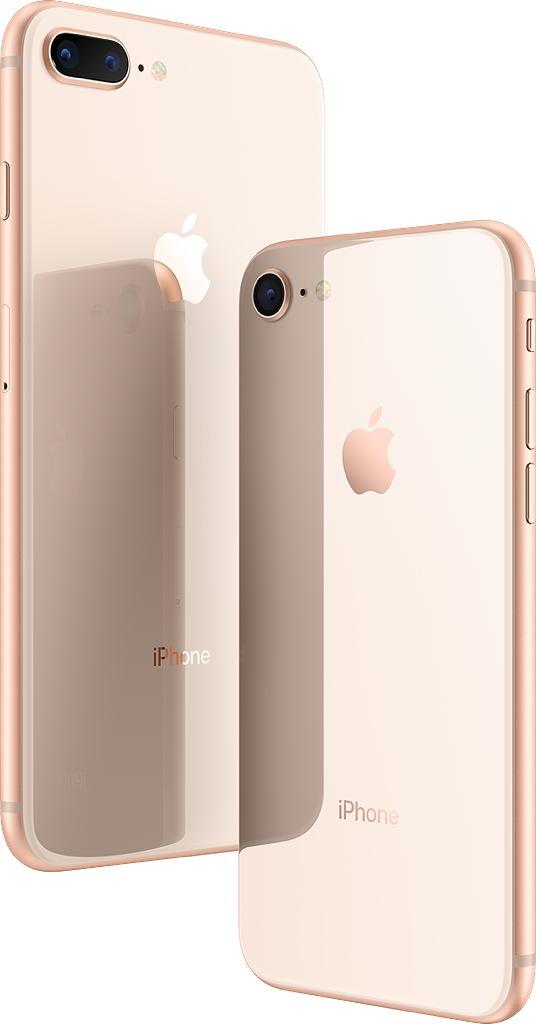 Скляні панелі на iPhone 8 та iPhone 8 Plus