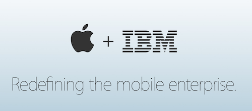 Новый союз: Apple и IBM будут сотрудничать на корпоративном рынке