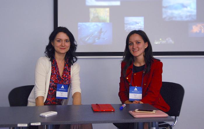 Раздорская Анна и Фролова Алина, тренеры.