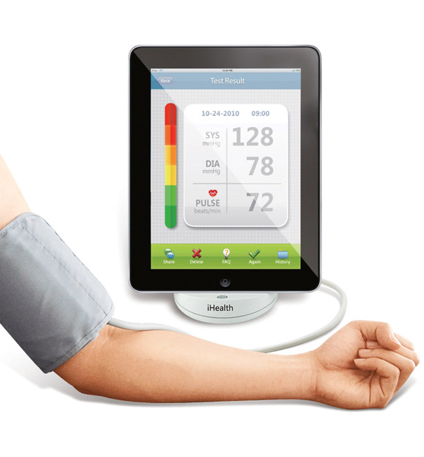 iHealth Blood Pressure Dock. Тонометр для пользователей iOS-гаджетов