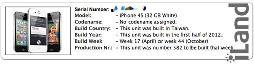 Проверка серийного номера iPhone