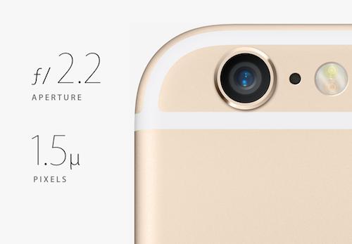 Новая камера в iPhone 6