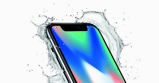Екран iPhone X відразу впадає в око