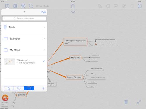 Создаем Mind Map на iPad