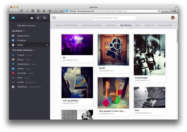 JoliDrive для Mac