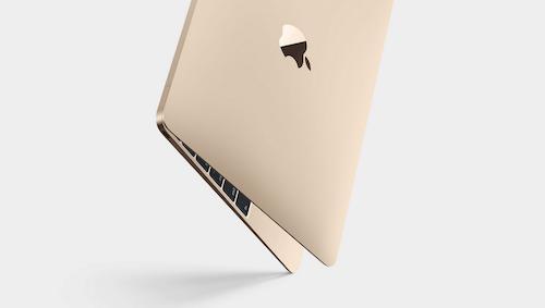 Золотой MacBook