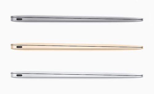 Порт USB-C в новом MacBook