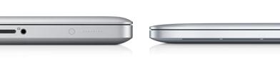 Толщина MacBook Pro и macBook Pro Retina
