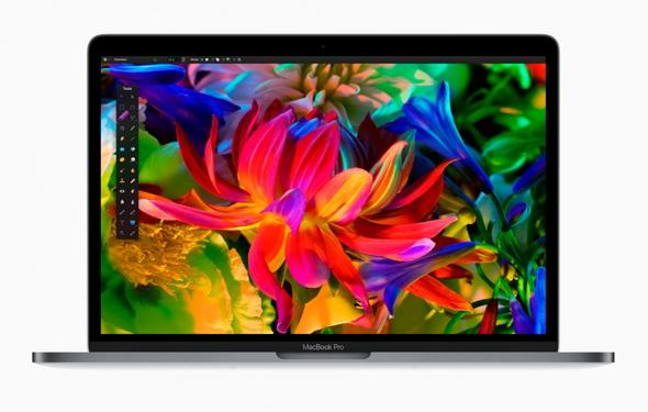Мільйони кольорів у дисплеї нового MacBok Pro