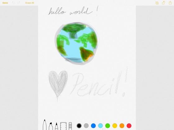 Notes - програма для малювання від Apple