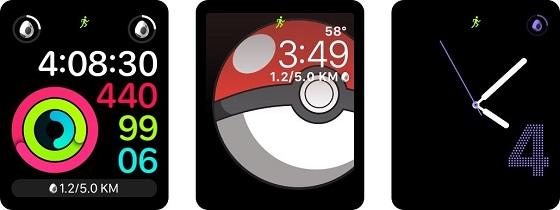 Так виглядає Pokémon Go на Apple Watch