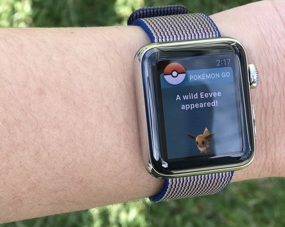 Pokémon Go на Apple Watch поєднує тренування та гру