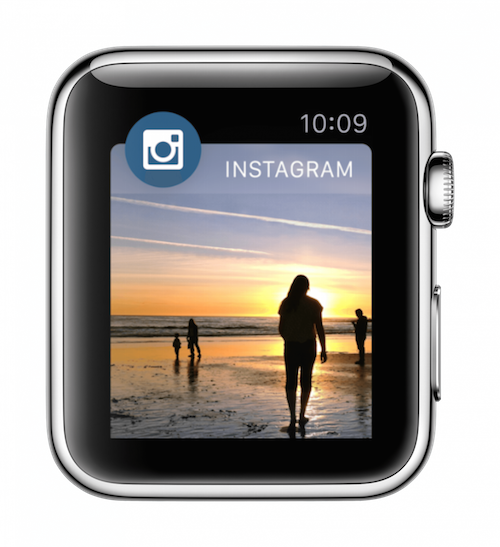 Instagram на Apple Watch