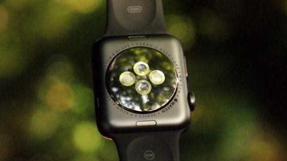 Датчики на Apple Watch