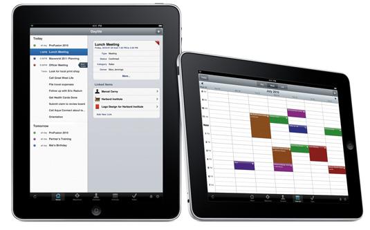 Daylite для iPad