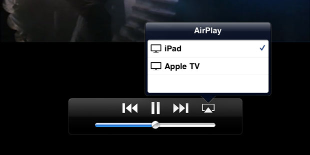 Видеоповтор AirPlay