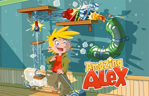 Amazing Alex: создаём творческий беспорядок дома