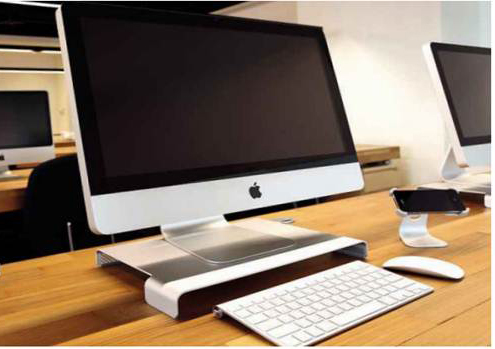 Just Mobile Table Monitor Stand