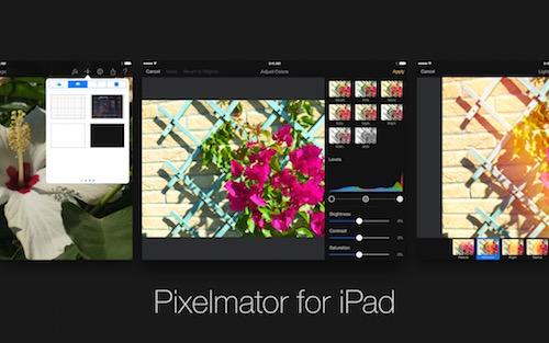 Pixelmator – мощный редактор изображений