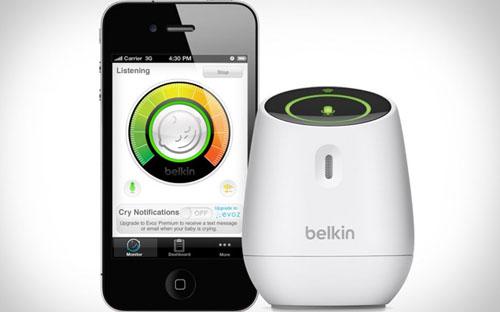 Belkin WeMo Baby monitor: как себя чувствует ваш малыш?