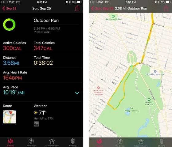 IPhone можна залишити вдома, а Apple Watch Series 2 відмінно запише дані тренування