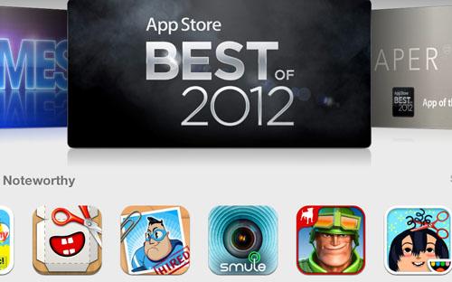 Названы лучшие приложения и игры для iOS