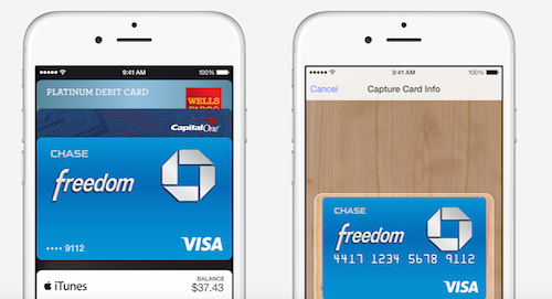 Apple Pay на iPhone