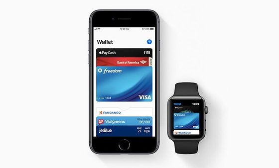 Wallet (гаманець) на iPhone та Apple Watch