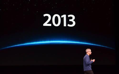 Apple отчиталась о финансовых итогах за второй квартал 2013 года