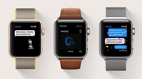 Чатитись на Apple Watch зручніше, ніж здається